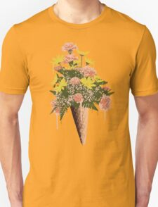 Spring Flowers and Ice Cream T-Shirt
