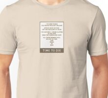 Bladerunner - I've Seen Things You People Wouldn't Believe Unisex T-Shirt