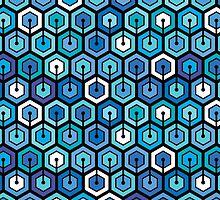 Blue cell by EV-DA