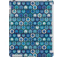 Blue cell iPad Case/Skin