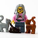 Cat Lady by William Rottenburg
