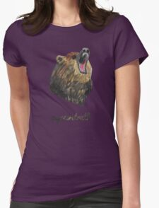 st thebear Womens Fitted T-Shirt