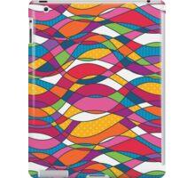 Bright geometric print iPad Case/Skin