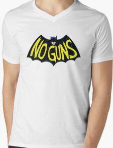 No Guns for this Hero Mens V-Neck T-Shirt