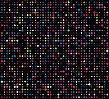 Colorful dots by EV-DA