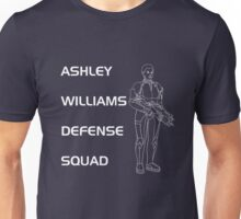 Mass Effect - Ashley Williams Defense Squad Unisex T-Shirt