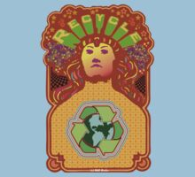 Recycle Mother Earth Planet Kids Tee