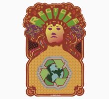 Recycle Mother Earth Planet by mindofpeace