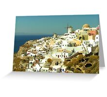 Santorini Greeting Card