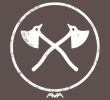 Angels and Airwaves Axe badge 2 by Jonrabbit
