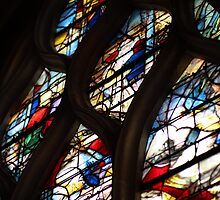 Senlis Cathedral stained glasses by remos