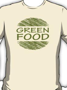 Go Green Food Vegetarian Vegan T-Shirt