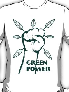 Go Green Power T-Shirt