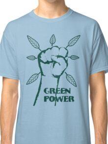 Go Green Power Classic T-Shirt