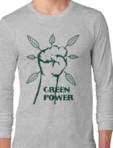 Go Green Power Long Sleeve T-Shirt