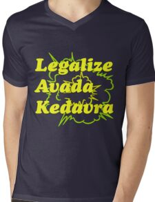 LEGALIZE AVADA KEDAVRA Mens V-Neck T-Shirt