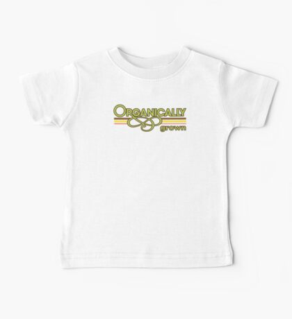 Organically Grown Vegetarian Vegan Baby Tee