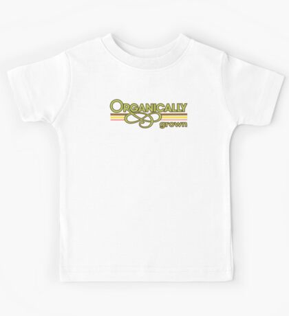 Organically Grown Vegetarian Vegan Kids Tee