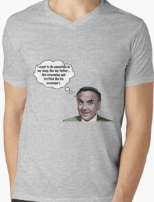 Bob Monkhouse Quote Mens V-Neck T-Shirt