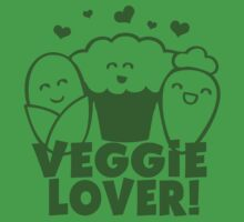 Vegan Veggie Lover One Piece - Short Sleeve