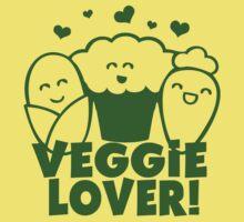 Vegan Veggie Lover Kids Tee