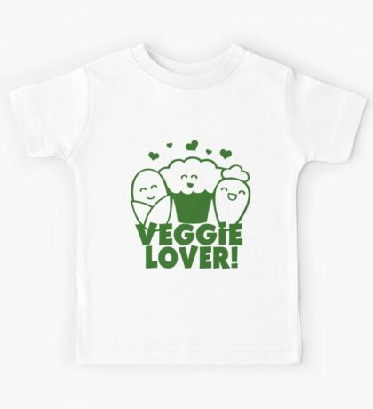 Vegan Veggie Lover Kids Tee