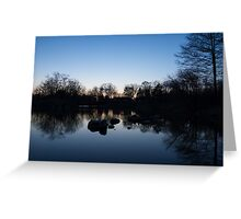 As the Evening Gently Comes... Greeting Card
