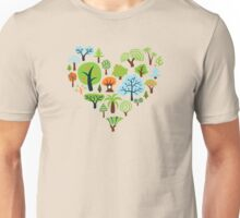 Green Tree Love Unisex T-Shirt