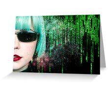 Matrix Homage Greeting Card