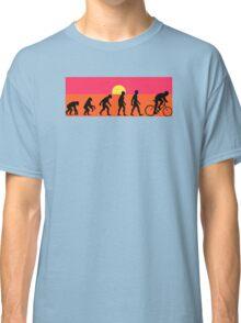 Pop Art Bike Evolution Classic T-Shirt