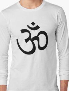 Aum Om Symbol Long Sleeve T-Shirt