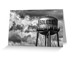 Of mice and men, Soledad, California Greeting Card