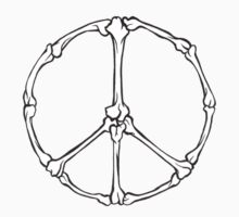 Peace Bones One Piece - Long Sleeve