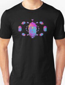 Swirling Buddha Heads Unisex T-Shirt