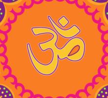 Lotus Om Symbol Sticker
