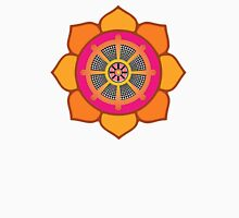 Lotus Buddhist Dharma Wheel Unisex T-Shirt