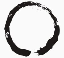Zen Buddhist Enso Symbol One Piece - Short Sleeve