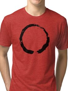 Zen Buddhist Enso Symbol Tri-blend T-Shirt