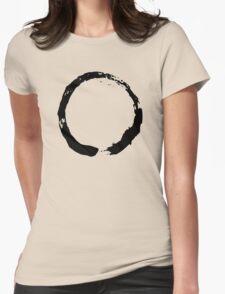 Zen Buddhist Enso Symbol Womens Fitted T-Shirt
