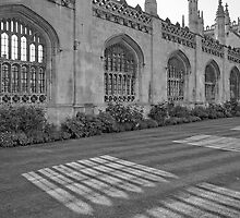 Shadows of King's College Cambridge by Priscilla Turner