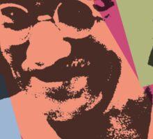 Pop Art Ghandi Sticker