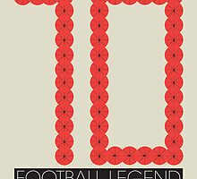 10: Football Legend by fumijjgah