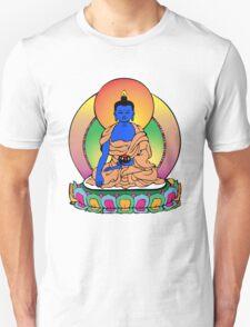 Buddhist Blue Buddha T-Shirt