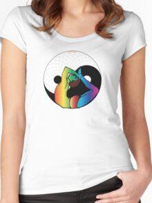 Yin Yang Yoga Women's Fitted Scoop T-Shirt