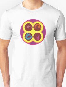 Pop Art Yoga Poses T-Shirt