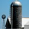Silo standing tall