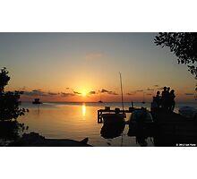 Caribbean sunset Photographic Print