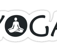Yoga Meditate Sticker