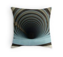 Circular Architecture Throw Pillow