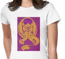 Pop Art Namaste Woman Womens Fitted T-Shirt